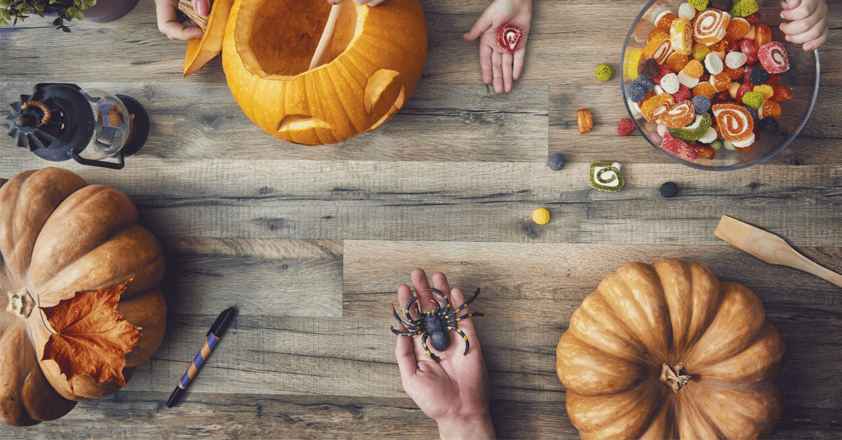 DIY Halloween Decoration Ideas, from lernin blog