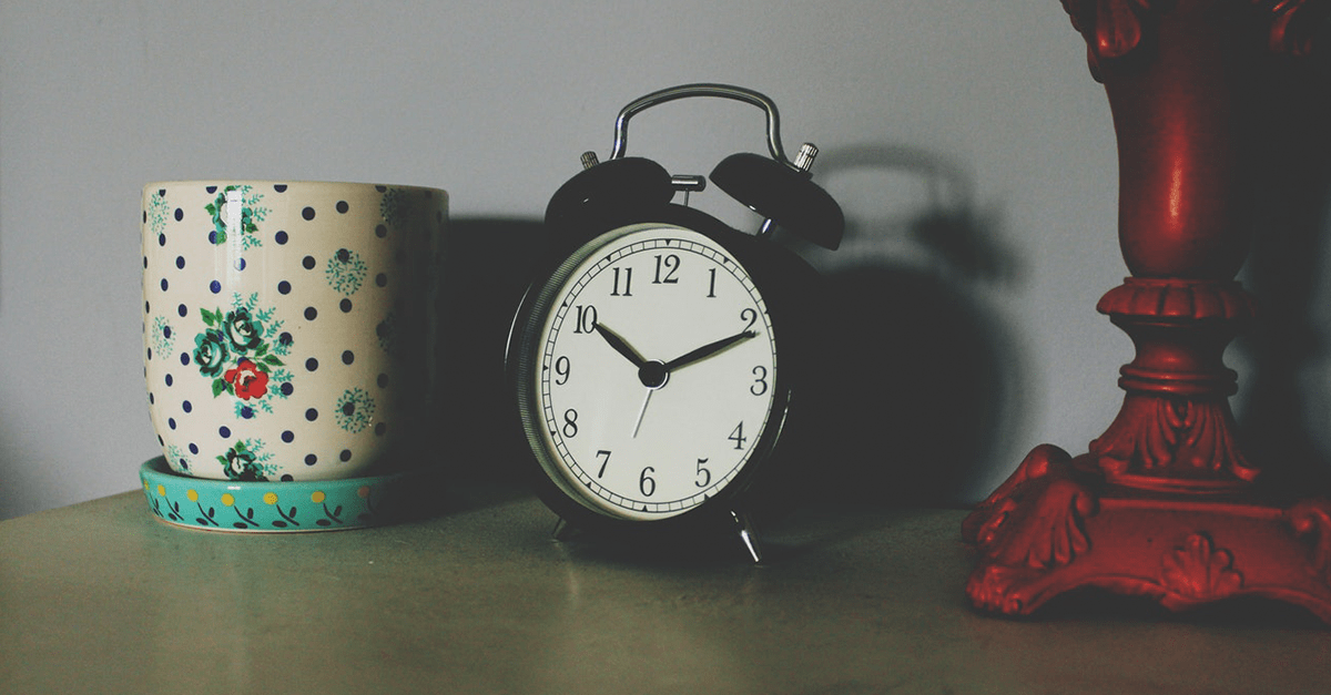 5 trucos para madrugar sin esfuerzo