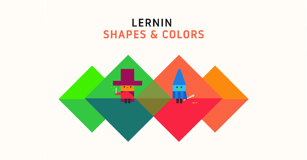 lernin: shapes and colors new update, from lernin blog