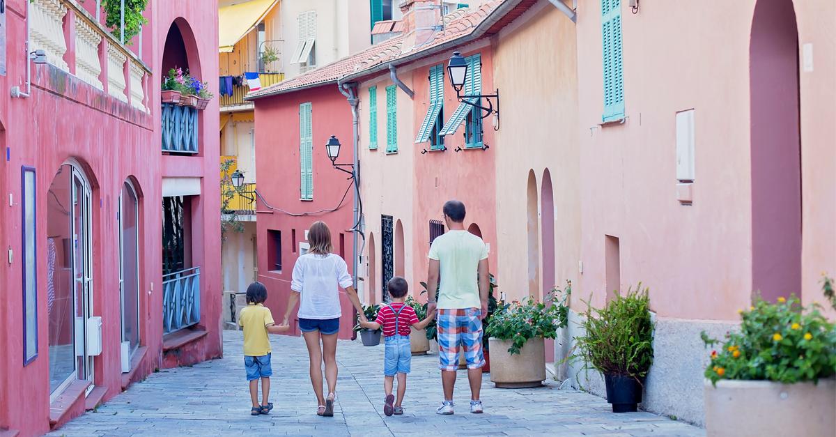 Viajar en familia sin querer rendirse y abandonarlo todo