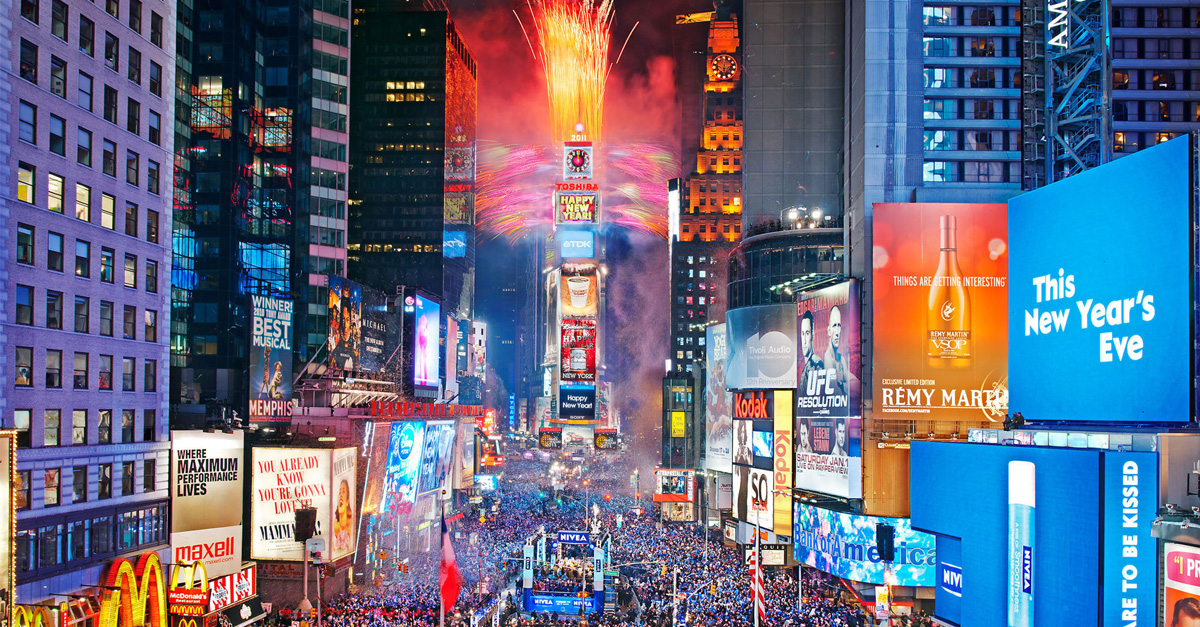 NYE: New Year's Eve Traditions Around the World