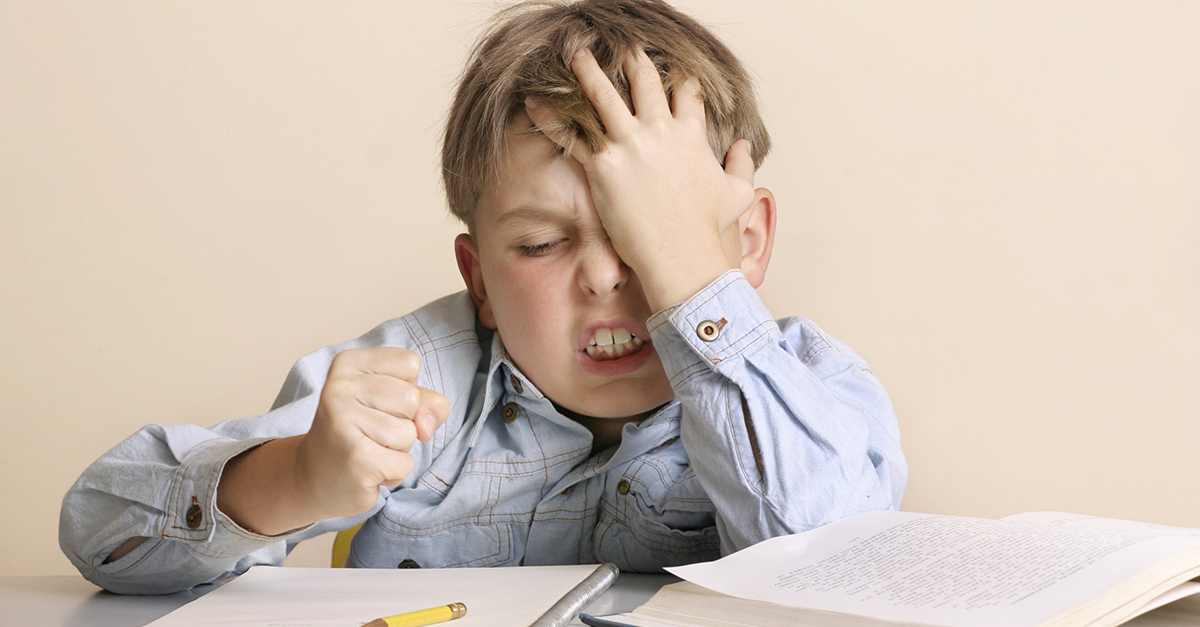 ¿Cómo manejar la frustración en la infancia?