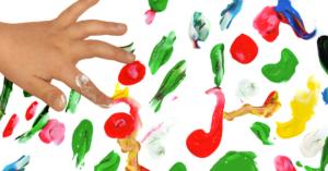 Ideas para jugar con pintura y agua al aire libre