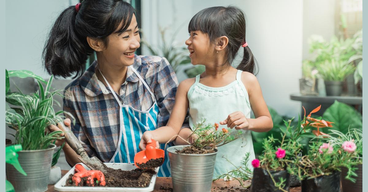 ¿Cómo hacer un huerto fácil en casa con niños?