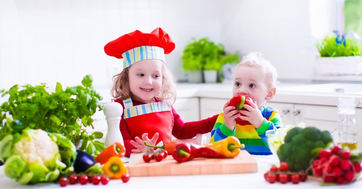 Recetas sanas y divertidas para cocinar con niños