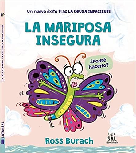 La mariposa insegura, libros para niños para leer en verano, Kokoro Kids blog